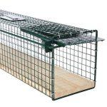 Piège de capture – Cage A une entrée - Pour petits animaux Lapins, chats, martres, fouines Poignée - 80x15x19cm – 6042 de la marque Moorland image 1 produit