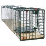 Piège de capture – Cage A une entrée - Pour petits animaux Lapins, chats, martres, fouines Poignée - 80x15x19cm – 6042 de la marque Moorland image 3 produit