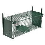 Piège de capture - Cage - L - Pour petits animaux : Lapins, rats, martres, fouines - 61x21x23cm Deux entrées + Poignée de la marque Moorland image 1 produit