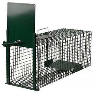 Piège de capture - Cage - Pour Animaux : lapin, rat - Simple à utiliser - infaillible -60x23x23cm - Avec une entrée 5001 de la marque Moorland image 0 produit