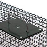 Piège de capture - Cage - Pour Animaux : lapin, rat - Simple à utiliser - infaillible -60x23x23cm - Avec une entrée 5001 de la marque Moorland image 2 produit