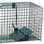 Piège de capture - Cage - Pour Animaux : lapin, rat - Simple à utiliser - infaillible -60x23x23cm - Avec une entrée 5001 de la marque Moorland image 3 produit
