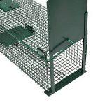 Piège de capture - Cage -XL - Pour petits animaux : Lapins, chats, martres, fouines - 100x25x25cm - Deux entrées - 5007 de la marque Moorland image 2 produit