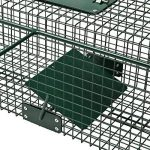 Piège de capture - Cage -XL - Pour petits animaux : Lapins, chats, martres, fouines - 100x25x25cm - Deux entrées - 5007 de la marque Moorland image 4 produit