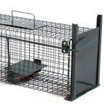 Piège de capture infaillible - Cage - Pour petits animaux: lapins, rats, rongeurs - 50x18x18cm - Avec deux entrées 5006 de la marque Moorland image 2 produit