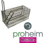 Piège à Rat & Souris Piège de capture 21 cm - Cage - Pour Animaux Avec une entrée Simple à utiliser & infaillible de la marque PROHEIM image 4 produit