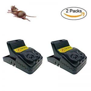 Piège à rats - Elimine instantanément et sans souffrance les rongeurs qui squattent votre maison, sans laisser traces ni odeurs - Mise en place ultra simple - Écologique et réutilisable(Lot de 2) de la marque Cszxx image 0 produit