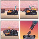 Piège à rats XXL x 6 - Elimine instantanément et sans souffrance les rongeurs qui squattent votre maison, sans laisser traces ni odeurs - Mise en place ultra simple - Écologique et réutilisable de la marque EZIOR HOME image 3 produit
