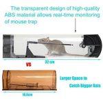 Piège à souris, SWNKDG attrappe rat souricière piège à rats en plastique réutilisable protectrice des animaux de la marque SWNKDG image 1 produit