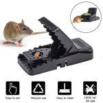 Piège à Souris, Tapette à Rat Réutilisable Souricière avec Ressort Puissant et Sensible Contrôle des Rats Efficace (Lot de 6) de la marque Charlemain image 1 produit