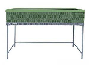 Potager surélevé en métal, carré potager sur pieds Green Passion vert bambou 120x56x80 cm de la marque Botanyland image 0 produit