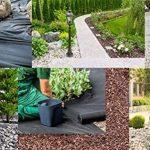 Premium toile/toison anti-mauvaises herbes - 150g/m² - 50m x 1m = 50m² de la marque Qualitätsvlies trading-point24 Denise Richter image 2 produit