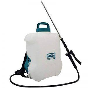 Pulvérisateur à pression à dos capacité 16 litres avec une pompe électrique puissante - pulvérisateur d'engrais, pesticides, eau.... de la marque PROHEIM image 0 produit