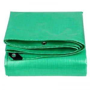 QIANGDA Vert Bâche Imperméable Store Étoffe Tissée Couvrir Les Marchandises Nid D'animaux Anti-vent -210g/M², Épaisseur 0.38mm, 11 Tailles Optionnel (Couleur : Vert, taille : 3 x 3m) de la marque QIANGDA-pengbu image 0 produit