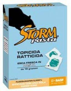 """RAT-POISON empoisonnement """" tempête PASTA """" pack de 500 grammes de la marque zapi image 0 produit"""