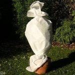 Relaxdays 50 g/m²-dimensions : 1,6 mm x 50 m-résistant aux uV-welt.de housse d'hivernage non tissée pour les plantes de la marque Plant-Protex/Texton image 4 produit