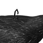 Relaxdays Corbeau de jardin anti-pigeon décoration épouvantail oiseaux pigeon alarmistes jardin figure 38 cm, noir de la marque Relaxdays image 2 produit