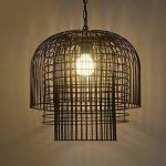 Retro style chinois dans la cage à oiseaux fer café thé lampes Restaurant Ingénierie feux lustre filet anti-oxydant fortement de la marque FGGR GERGRE image 1 produit