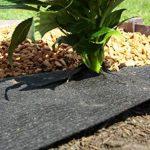 ROLLS & ROLLS Bâche de Paillage Tissu Non tessutoi Rouleau Anti Sangle Polypropylène avec Stabilisation Élevée Contre Les Rayons UV, 100GR/m² Noir. de la marque ROLLS & ROLLS image 3 produit