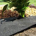 ROLLS & ROLLS Bâche de Paillage non tissé Rouleau anti Sangle polypropylène avec stabilisation élevée contre les rayons UV, 100gr/m² Noir. de la marque ROLLS & ROLLS image 3 produit