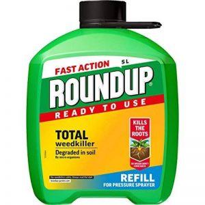 Roundup Pompe à action rapide 'n' Go Désherbant 5litres recharge de la marque Scotts Miracle-Gro image 0 produit