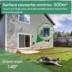 Répulsif solaire à ultrasons - Anti nuisibles - Longue portée - Protecteur de jardin à fréquence réglable - Stop chats rongeur rapaces insectes de la marque PRATIPLUS image 1 produit