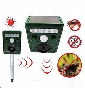 Répulsif à Ultrasons Pest Repeller Solaire/Ultrasonique Pour Animaux Chat,Chien,Renard de la marque DUVERT image 0 produit