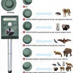 Répulsif à Ultrasons Pest Repeller Solaire/Ultrasonique Pour Animaux Chat,Chien,Renard de la marque DUVERT image 2 produit