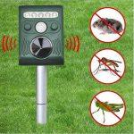 Répulsif à Ultrasons Pest Repeller Solaire/Ultrasonique Pour Animaux Chat,Chien,Renard de la marque DUVERT image 3 produit