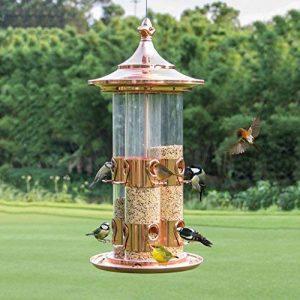 Sauvage Feeder Jardin Oiseau Provisions De Plein Air Stockage Des Oiseaux Et Parfait Pour Observation Des Oiseaux Pour Amant D'oiseau. Cacoffay de la marque Caco.Ffay image 0 produit