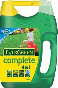 Scotts Miracle-Gro Engrais, herbicide et anti-mousse EverGreen avec épandeur, pour 100 m2 de la marque Scotts Miracle-Gro image 0 produit