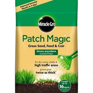 Scotts Miracle-Gro patch magic sac de semence à gazon, engrais et fibre de coco 3,6kg de la marque Scotts Miracle-Gro image 0 produit