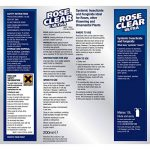 Scotts Miracle-Gro Rose Clear Ultra Insecticide et fongicide universel liquide concentré 200 ml de la marque Scotts Miracle-Gro image 1 produit