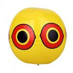 SEICOSY Bird Répulsif Scary œil Ballons Pegion & Sparrow Deterrnet Ultrasonore Ballon Lot de 3(Jaune + Noir + Blanc) de la marque SEICOSY image 3 produit