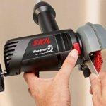 Skil 0700AA Weedbuster Désherbeur électrique avec Brosse Nettoyage (500W, fonction Téléscopique, Easy Storage) de la marque SKIL image 4 produit