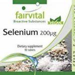 Sélénium 200µg à base de levure de sélénium organique, naturel, végan, 90 comprimés, flacon avantageux, approvisionnement de 3 mois de la marque fairvital image 4 produit