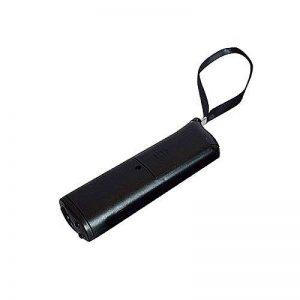 SMARTrich LED de dressage de chien à ultrasons anti-aboiement Barking Dog Training Répulsif contrôle Trainer appareil anti aboiements écorce de stop Outil 13 x 4 x 2.6cm Noir de la marque SMARTrich image 0 produit