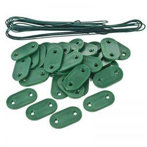 SODIPA Outillage , Plaquette de fixation vert (30 plaquettes + 4m20 de fil) de la marque Provence Outillage image 0 produit