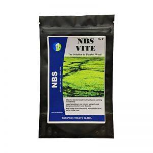 Solvant de couverture contre les mauvaises herbes NBS VITE 1 Paquet Traitement algues chaîne Traite jusqu'à 2 500 litres de la marque NBS-PRODUCTS image 0 produit