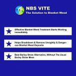 Solvant de couverture contre les mauvaises herbes NBS VITE 1 Paquet Traitement algues chaîne Traite jusqu'à 2 500 litres de la marque NBS-PRODUCTS image 2 produit