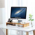 SONGMICS Support de moniteur Bambou LLD201 de la marque SONGMICS image 4 produit