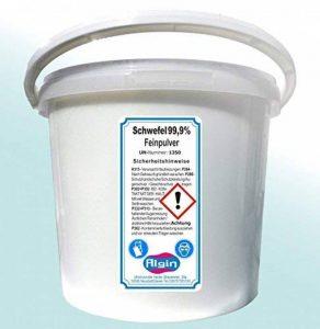 Soufre Poudre en seau de 5L 3,5kg de Soufre fin en poudre lavé et très fin de la marque Algin image 0 produit