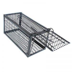 Souricière métal pliante rat Parasite ATTRAPEUR pièges ANTI-PARASITES humain Cage - Large de la marque Quemu image 0 produit