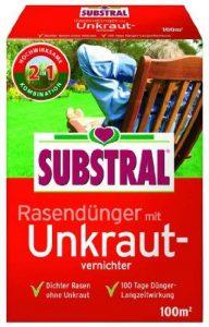 Substral Engrais pour gazon avec herbicide pour 100m²–2kg de la marque Substral image 0 produit