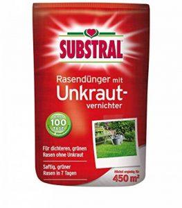 Substral Engrais pour gazon avec herbicide pour 450qm 9kg, volldünger, engrais longue durée de la marque Mühlan Zoobedarf image 0 produit