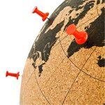 SUCK UK Mini globe en liège de la marque Suck image 2 produit
