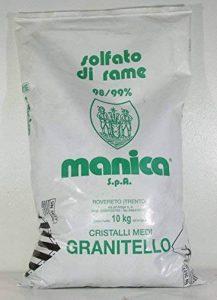 SULFATE DE CUIVRE GRANITELLO 98-99 % DE PURETÉ-10 KG de la marque Manica image 0 produit
