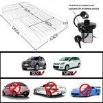 SUV Auto Voiture gonflable Air Matelas lit pour siège arrière de voitures SUV de camions et de taille moyenne en extérieur de voyage, PVC, SUV Black, 2 oreillers de la marque LABABE image 2 produit