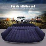 SUV Auto Voiture gonflable Air Matelas lit pour siège arrière de voitures SUV de camions et de taille moyenne en extérieur de voyage, PVC, SUV Black, 2 oreillers de la marque LABABE image 3 produit