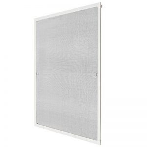 TecTake Moustiquaire pour fenêtre cardre en aluminium - diverses couleurs et tailles au choix - (80x100cm | blanc | no. 401204) de la marque TecTake image 0 produit